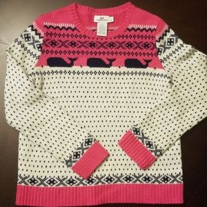 Girls Vineyeard Vines wool sweater
